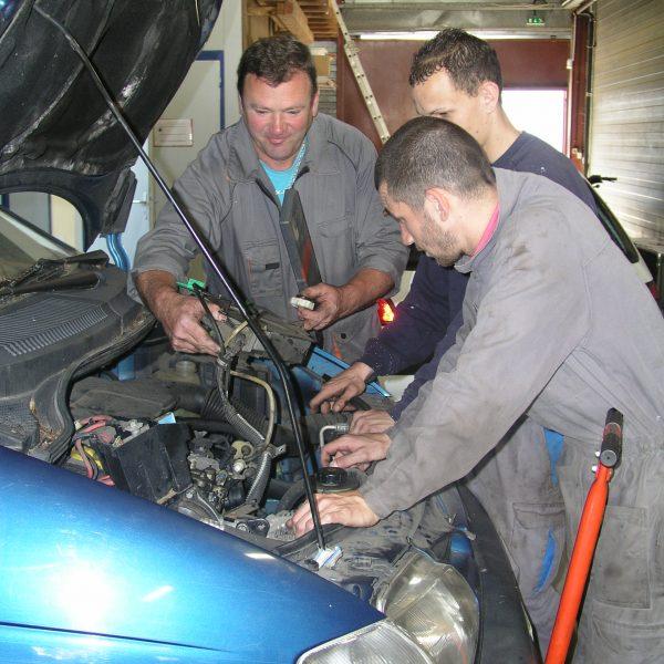 Réparation de véhicules